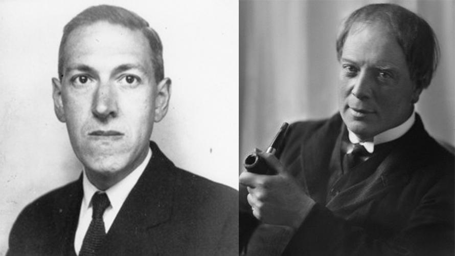 الخيال الغريب بين آرثر ماكين ولافكرافت